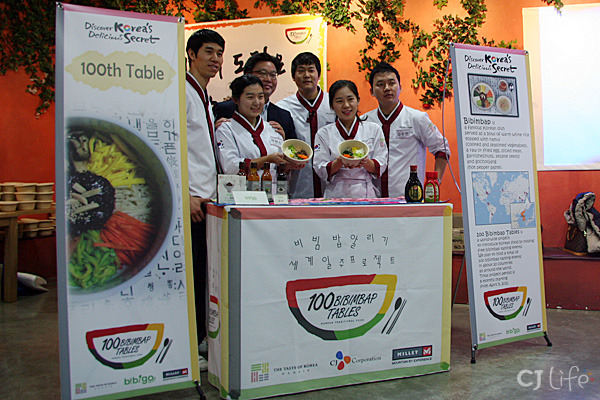 "South Korea's ""Bibimbap Backpackers"" on their global culinary tour to promote Korean ingredients and cuisine."